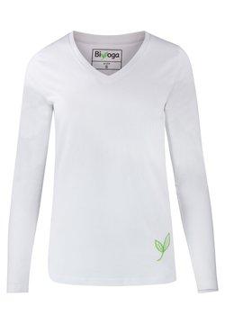 Biyoga - Langarmshirt - weiß