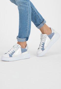 NoGRZ - Sneakers laag - white/blue