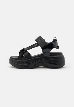 Replay - WELLOW - Sandalias con plataforma - black