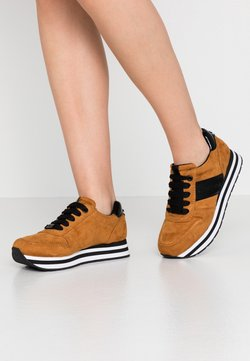 TOM TAILOR DENIM - Sneaker low - brandy