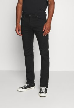 Diesel - SAFADO-X - Straight leg jeans - black denim