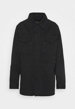 Superdry - CRAFTED SHACKET - Summer jacket - black