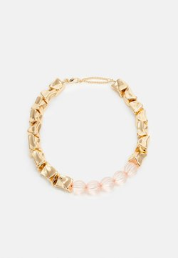 LIARS & LOVERS - MIX BEAD COLLAR - Collana - pink
