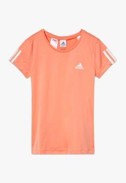 adidas Performance - TEE - T-shirt print - orange