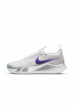 Nike Performance - REACT VAPOR - Scarpe da tennis per tutte le superfici - grey, lilac, dark purple