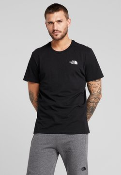 The North Face - SIMPLE DOME TEE - T-Shirt basic - black