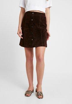 Vila - Mini skirt - puce