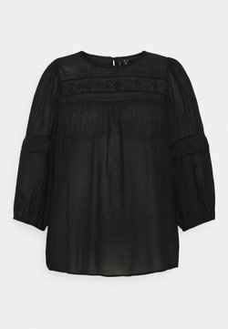 Vero Moda Curve - VMFELI - Bluse - black