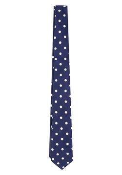 Scalpers - DOTS - Krawatte - navy