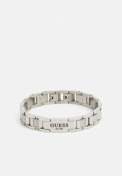 Guess - HERO FLAT PLATE UNISEX - Rannekoru - silver-coloured