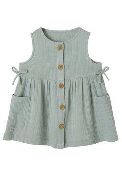 Vertbaudet - Jerseykleid - graugrün