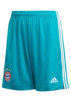 adidas Performance - GOALKEEPER FC BAYERN MÜNCHEN SHORTS - kurze Sporthose - grün (400)