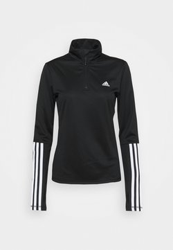 adidas Performance - Funktionsshirt - black/white