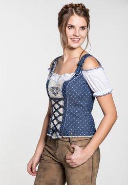 Spieth & Wensky - FRANKFURT - Bluse - blue/white