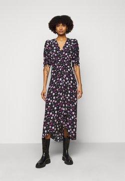 The Kooples - DRESS - Robe d'été - black/pink