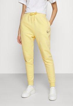 Karl Kani - SIGNATURE SWEATPANTS LIGHT - Pantaloni sportivi - yellow