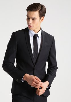 Noose & Monkey - ELLROY SLIM FIT - Costume - black