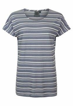 Elkline - CREAM - T-Shirt print - ashblue white