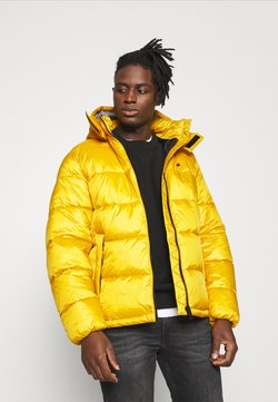 Champion Reverse Weave - HOODED JACKET - Winterjas - yellow