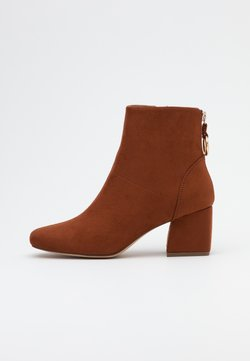 ONLY SHOES - ONLBILLIE LIFE HEELED BOOT  - Stiefelette - rust