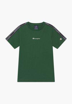 Champion - LEGACY AMERICAN TAPE CREWNECK - Printtipaita - dark green