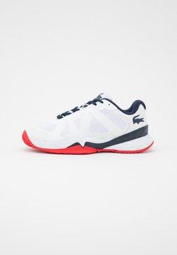 Lacoste Sport - LC SCALE II - Scarpe da tennis per tutte le superfici - white/blue