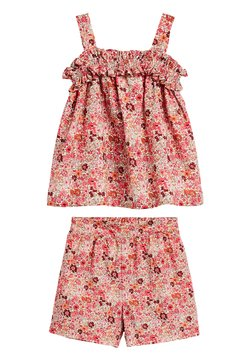 Next - PINK CO-ORD SET (3MTHS-7YRS) - Shorts - pink
