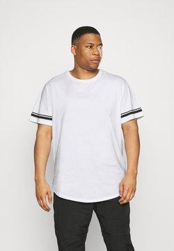 Only & Sons - ONSMATT LIFE LONGY STRIPE   - T-shirt imprimé - white