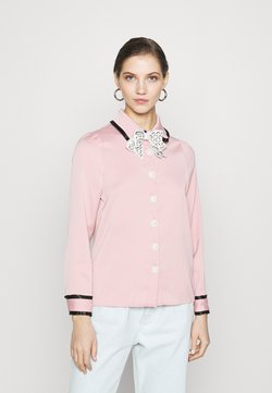 Sister Jane - DINE WITH ME BOW SHIRT - Camicetta - pink