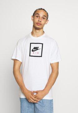 Nike Sportswear - M NSW SS TEE AIR 2 - T-shirt con stampa - white/black