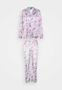LASCANA - FLOWER LONG SET - Pyjama - lilac