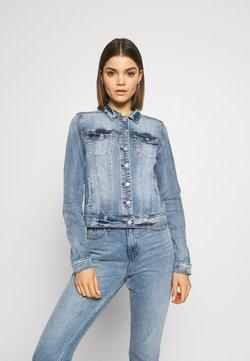 Vila - VISHOW JACKET - Veste en jean - medium blue denim