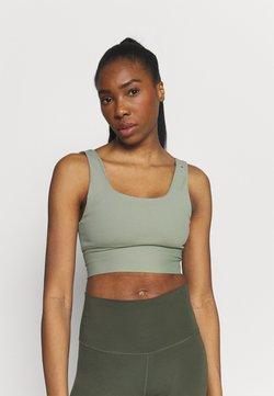 Cotton On Body - SCOOP NECK VESTLETTE - Toppi - basil green rib