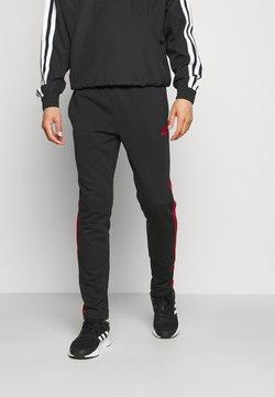 adidas Performance - Jogginghose - black/scarlet