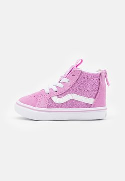 Vans - COMFYCUSH SK8 ZIP - Korkeavartiset tennarit - orchid/true white