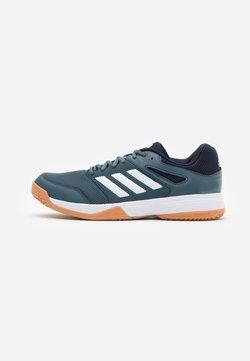 adidas Performance - SPEEDCOURT INDOOR SPORTS - Volleyballschuh - legend blue/footwear white/legend ink