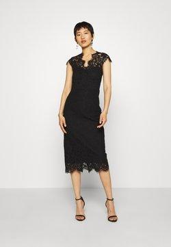 IVY & OAK - SHIFT DRESS MIDI - Cocktailkleid/festliches Kleid - black