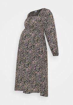 Pieces Maternity - PCMKIKI MIDI DRESS - Robe d'été - black