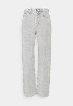 Weekday - ROWE TROUSER - Pantalones - grey medium dusty