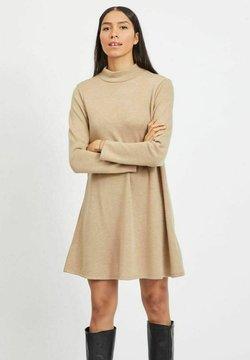 Vila - VIMANY  - Vestido de punto - beige