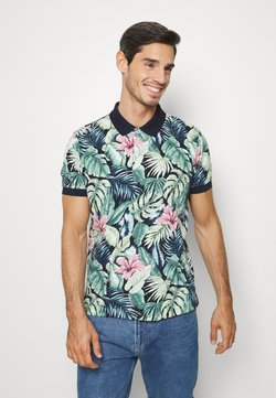 Tommy Hilfiger - ALL OVER FLOWER  - Polo shirt - green