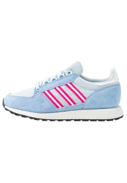 adidas Originals - FOREST GROVE  - Sneaker low - periwi/crystal white/shock pink