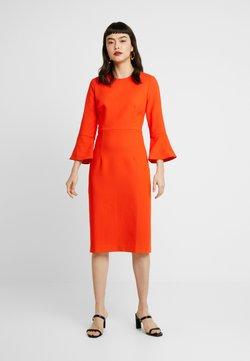IVY & OAK - TRUMPET SLEEVE DRESS - Shift dress - mandarin red