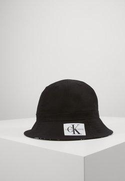 Calvin Klein Jeans - REVERSIBLE BUCKET HAT - Hoed - black