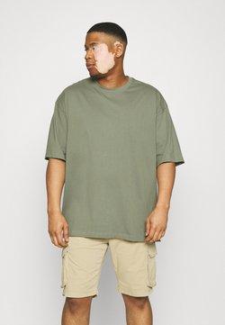 Shine Original - OVERSIZED TEE BIGUNI - Camiseta básica - dusty army