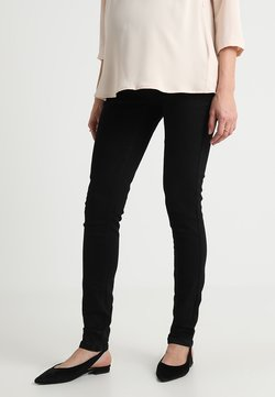 MAMALICIOUS - Slim fit jeans - black denim