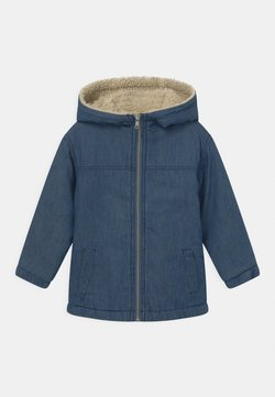 Cotton On - COOPER HOODED - Overgangsjakker - blue denim