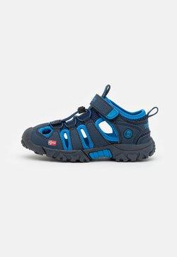 TrollKids - KIDS KRISTIANSAND UNISEX - Sandały trekkingowe - navy/medium blue