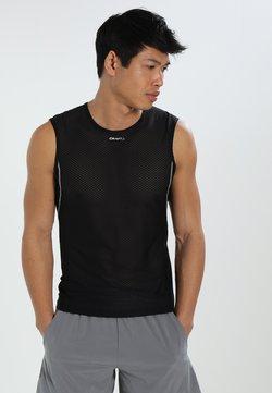Craft - COOL SUPERLIGHT SLEVELESS - Top - black