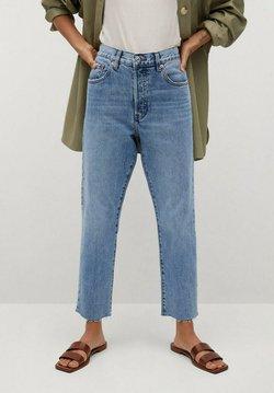 Mango - HAVANA - Straight leg jeans - middenblauw